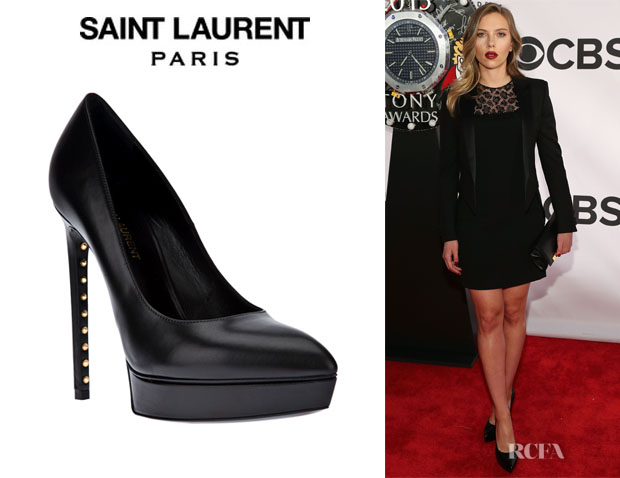 Scarlett Johansson's Saint Laurent 'Janis' Pumps