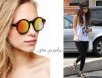 Selena Gomez' Free People Pladium Sunglasses