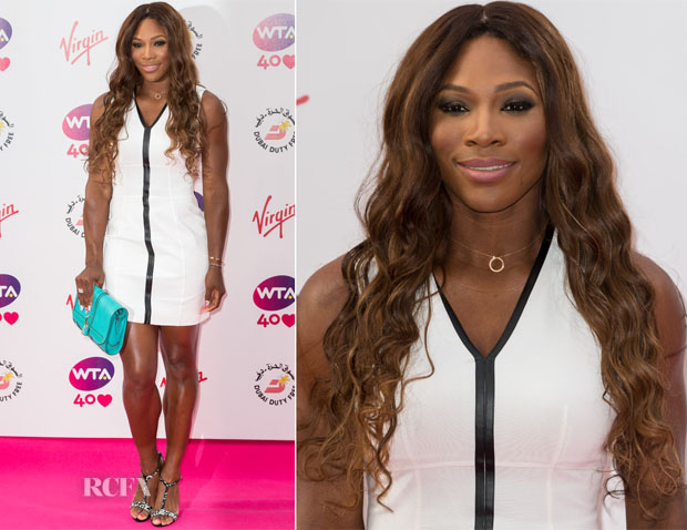 Serena Williams In Burberry London - Pre-Wimbledon Party