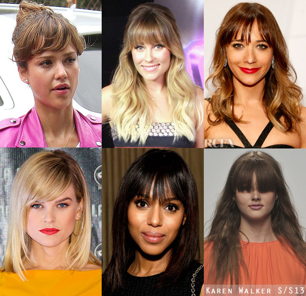 She Bangs Celebrity Fringes