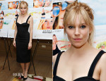 Sienna Miller In Burberry Prorsum - 'Just Like A Women' New York Screening