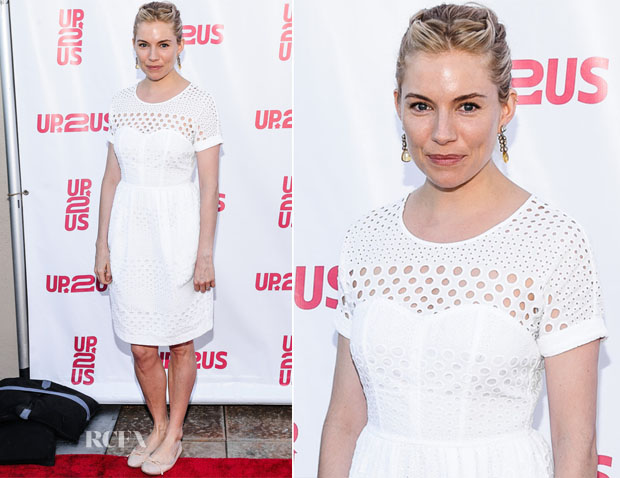 Sienna Miller In Burberry - Up2Us Gala