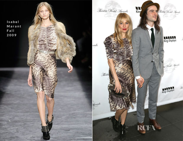 Sienna Miller In Isabel Marant - 69th Annual Theatre World Awards