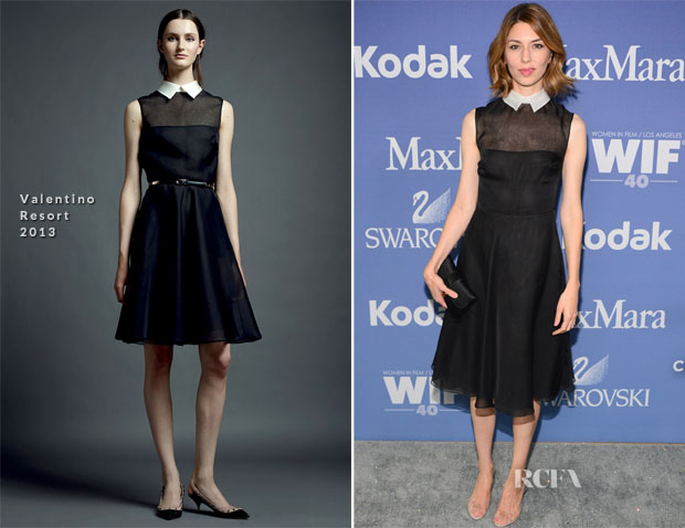 Sofia Coppola In Valentino - Women In Film's 2013 Crystal + Lucy Awards