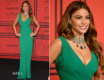 Sofia Vergara In Herve L. Leroux - 2013 CFDA Fashion Awards