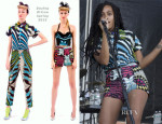 Solange Knowles In Boxing Kitten - Roots Picnic