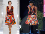 Solange Knowles In Marni - Glamour Live Show