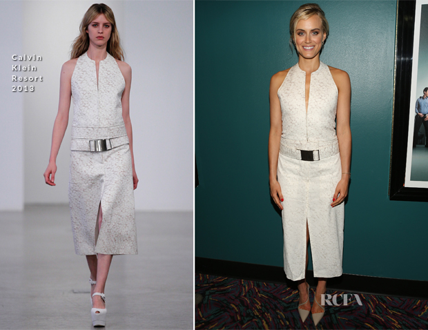 Taylor Schilling In Calvin Klein - Netflix Presents 'Orange Is The New Black' Special