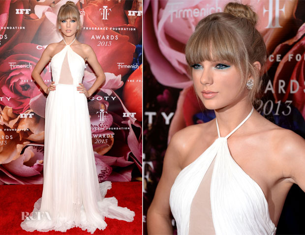 Taylor Swift In Emilio Pucci - 2013 Fragrance Foundation Awards
