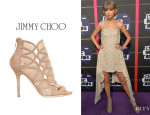 Taylor Swift's Jimmy Choo 'Fauna' Booties