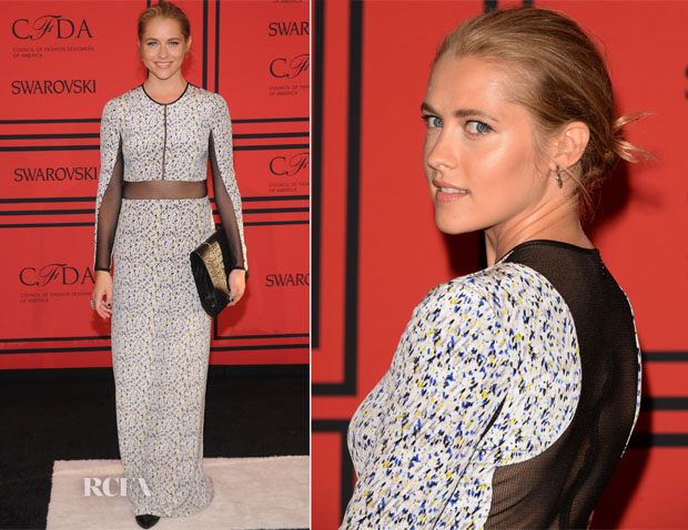 Teresa Palmer In Yigal Azrouel - 2013 CFDA Fashion Awards