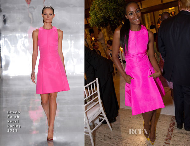 Tika Sumpter In Chado Ralph Rucci Alvin Ailey American Dance Theater Opening Night