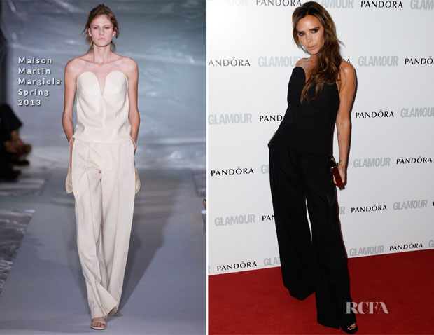 Victoria Beckham In Maison Martin Margiela - Glamour Women of the Year Awards 2013