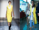 Victoria Beckham In Victoria Beckham - Beijing Capital International Airport