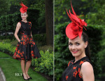 Victoria Pendleton In Paul Smith - Ladies Day Royal Ascot