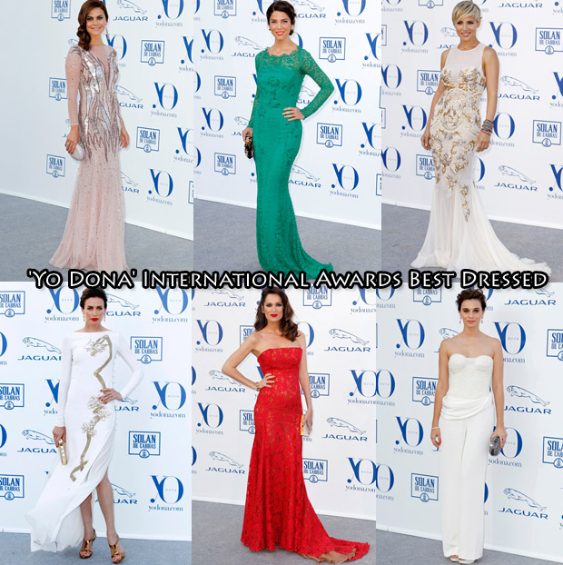 Who Was Your Best Dressed At The 'Yo Dona' International Awards 2013