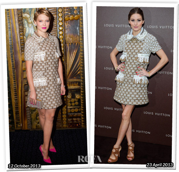 Who Wore Louis Vuitton Better Lea Seydoux or Olivia Palermo