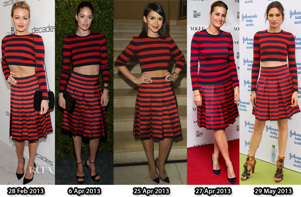 Who Wore Michael Kors Better Cat Deeley, Doutzen Kros, Miroslava Duma, Yasmin le Bon or Nieves Alvarez