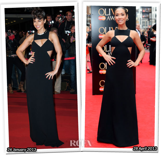 Who Wore Michael Kors Better Myleene Klass or Alicia Keys