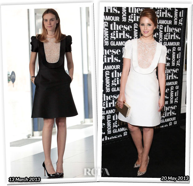 Who Wore Valentino Better Kasia Smutniak or Dianna Agron