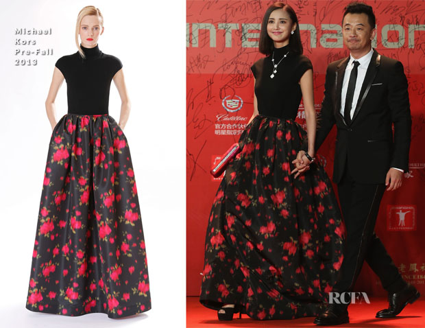 Zhang Xinyi In Michael Kors - 2013 Shanghai Film Festival Opening Ceremony