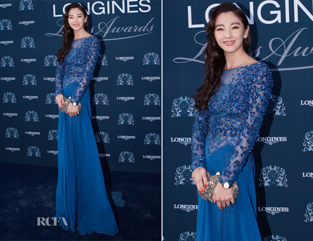Zhang Yuqi In Elie Saab - Longines Charity Dinner