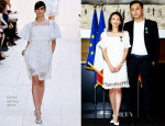 Zhang Ziyi In Chloé - Chevalier De L'Ordre Des Arts Et Des Lettres Awards