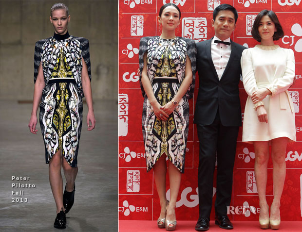 Zhang Ziyi In Peter Pilotto - 'The Road to the Grandmasters' Chinese Film Festival Opening Film