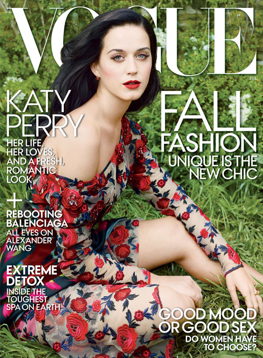 Katy Perry for Vogue US July 2013