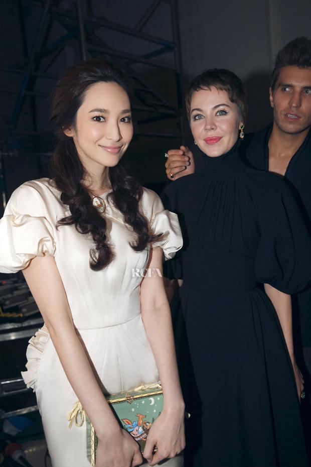 Pace Wu in Ulyana Sergeenko Couture