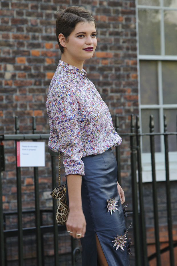 Pixie Geldof in House of Holland