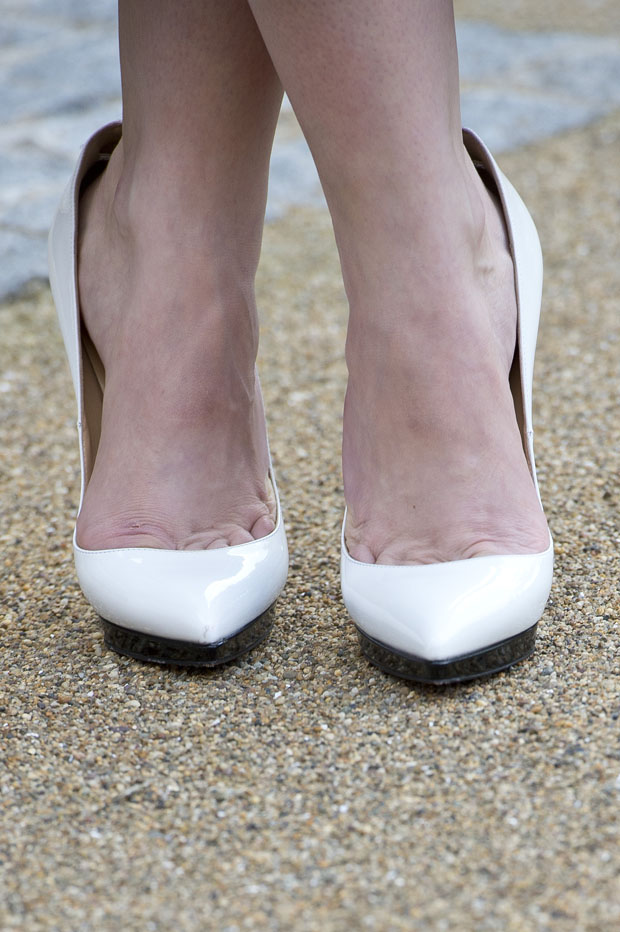 Hayley Atwell's Lanvin shoes