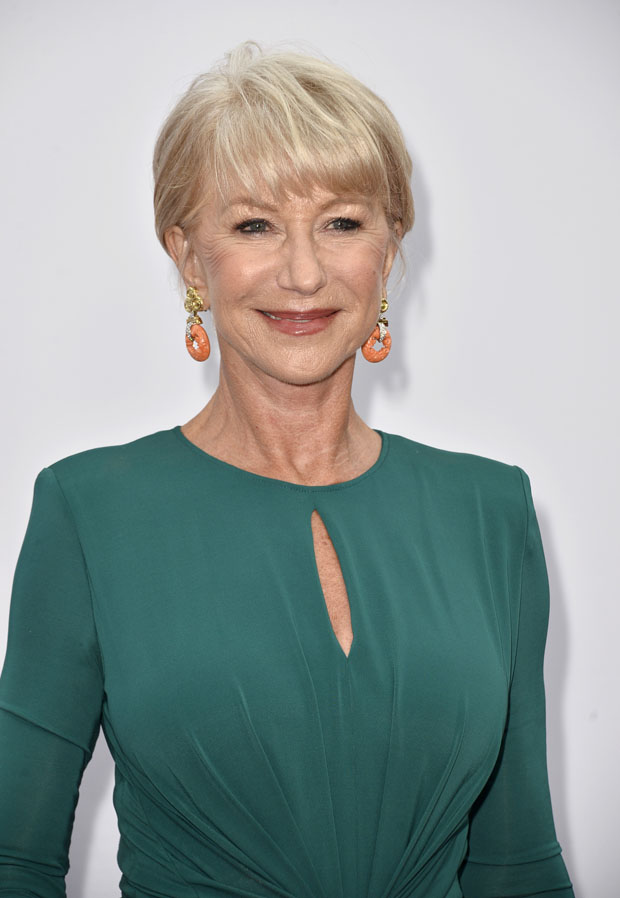 Helen Mirren in Elie Saab