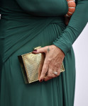 Helen Mirren's Elie Saab clutch and David Webb bracelet