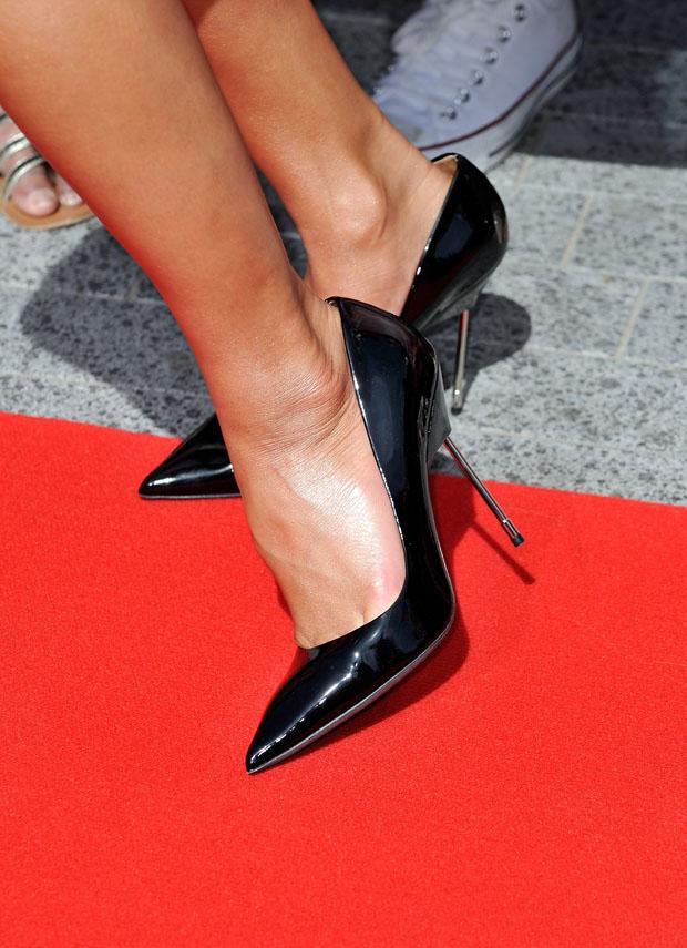 Nicole Scherzinger's  Kurt Geiger 'Britton' pumps