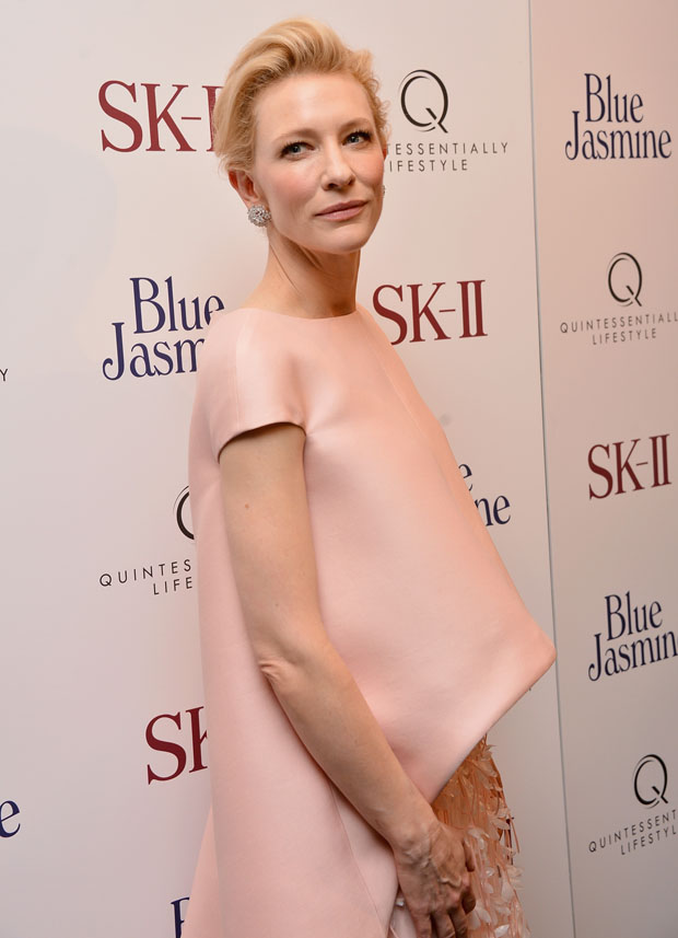 Cate Blanchett in Balenciaga.Edition