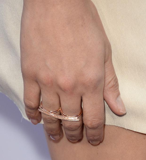 Aubrey Plaza's Jacquie Aiche ring