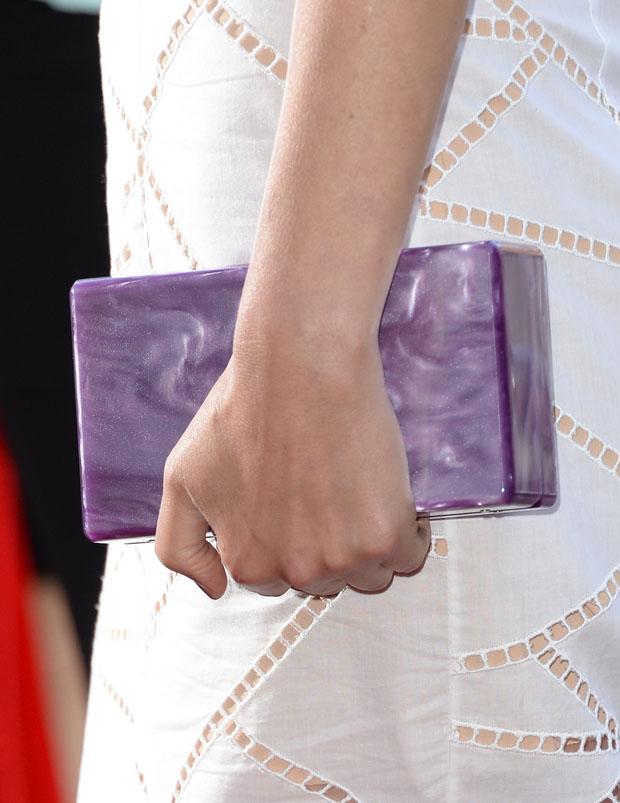 Rose Byrne's Edie Parker clutch