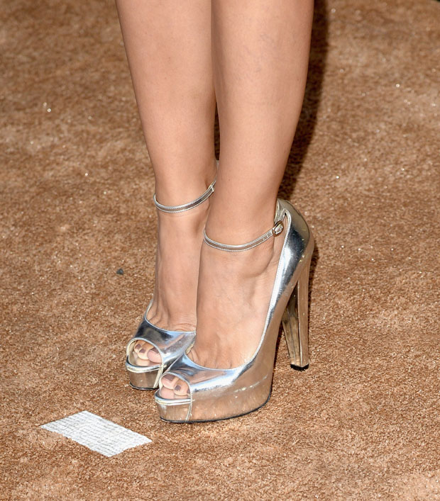 Rachel Bilson's Brian Atwood shoes