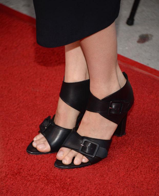 Shailene Woodley's Proenza Schouler shoes