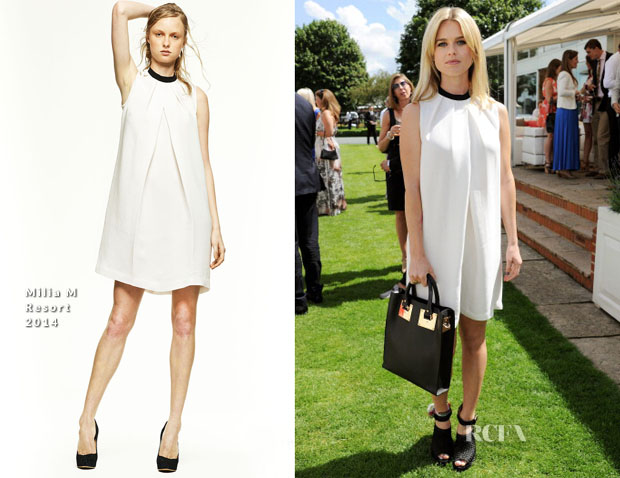 Alice Eve In Milia M - Audi International Polo