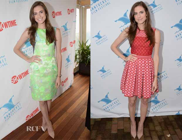 Allison Williams In Matthew Williamson & Missoni - 18th Annual Nantucket Film Festival