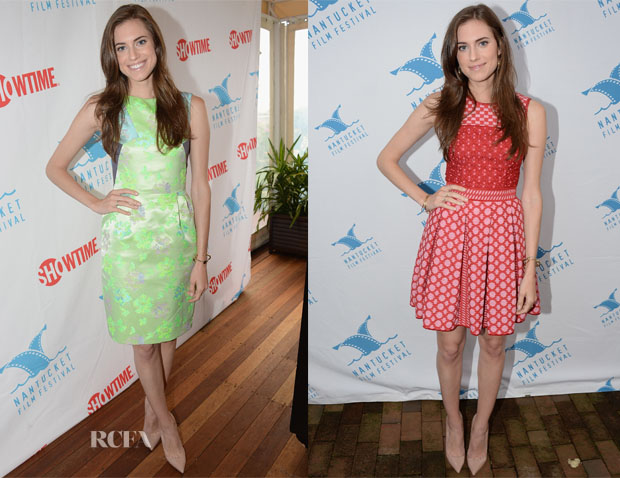 Allison Williams In Matthew Williamson & Missoni - 18th Annual Nantucket Film Festival2