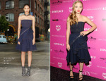 Amanda Seyfried In Givenchy - 'Lovelace' New York Screening
