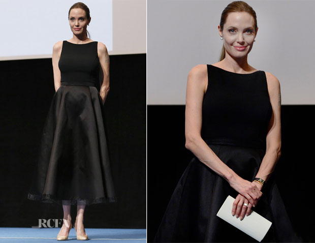 Angelina Jolie In Michael Kors - 'In the Land of Blood and Honey' Tokyo Screening