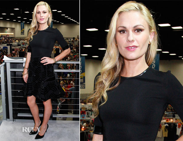 Anna Paquin In David Koma - HBO's 'True Blood' Cast Autograph Signing