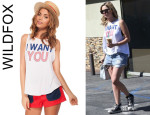 Ashley Benson's Wildfox Couture 'I Want You Cassidy' Tank
