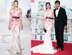 Astrid Munoz In Giambattista Valli Couture - 'Love Ball' In Support Of The Naked Heart Foundation