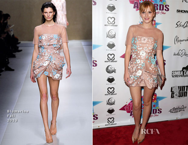 Bella Thorne In Blumarine - 2013 KARtv Dance Awards