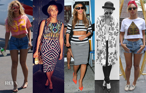 Beyonce Knowles Loves Topshop